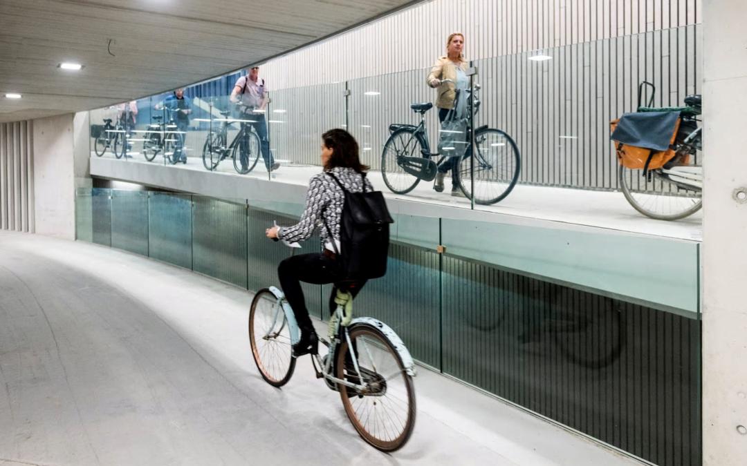 In Utrecht entsteht das größte Fahrradparkhaus der Welt