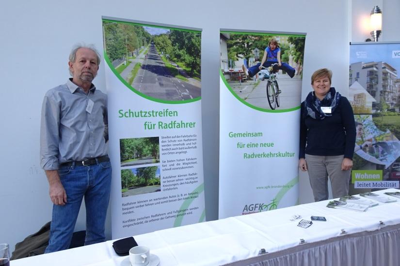 AGFK Brandenburg auf der 11. Fahrradkommunalkonferenz