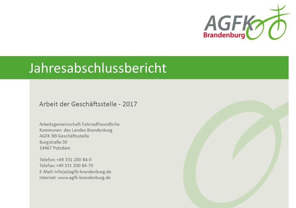 Jahresabschlussbericht 2017
