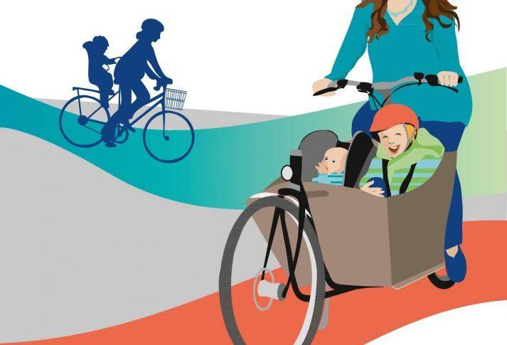 Radfahren in der Schwangerschaft und mit Baby
