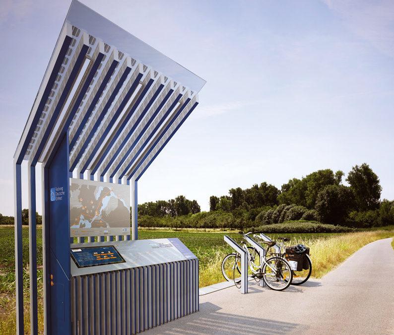 """Erste Radstätten am """"Radweg Deutsche Einheit"""""""