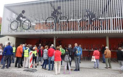 Neues Fahrradparkhaus in Oranienburg