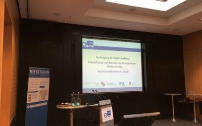 """Fachtagung """"Entwicklung und Betrieb von öffentlichen Transportrad-Mietsystemen"""""""