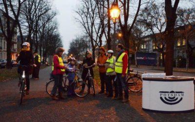 """Aktion """"FahrRad-Licht"""" in der Landeshauptstadt"""