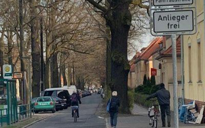 Potsdams vierte Fahrradstraße eröffnet
