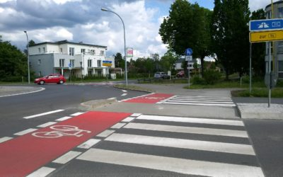 Straßenverkehr Oranienburg – Mehr Klarheit im Kreisverkehr in der Berliner Straße