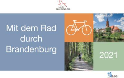 Bildkalender mit ausgewählten Radrouten