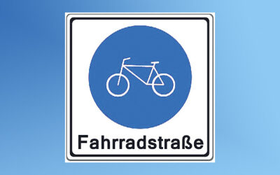 Online-Seminar zum Thema Fahrradstraßen