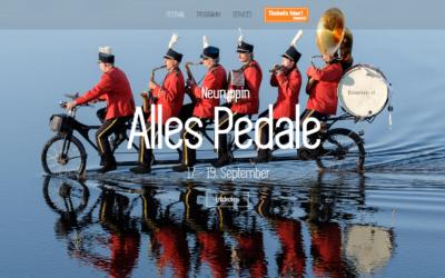 Fahrradkulturfestival in Neuruppin