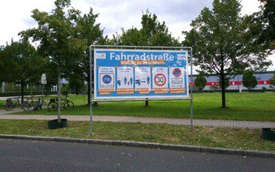 Aufklärung der Verkehrsteilnehmer in Oranienburg